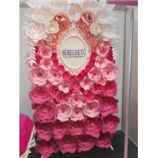 Rózsaszín fotófal 1,25 cm