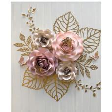 10. Papírvirág dekoráció