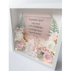 Testvérköszöntő virágbox