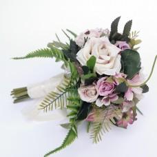 Menyasszonyi selyemvirágcsokor