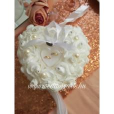 Liliána gyűrűtartó párna