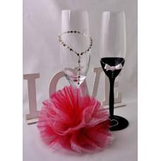 MRS Pink pezsgős poharak