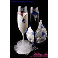 Pink-kék poharak